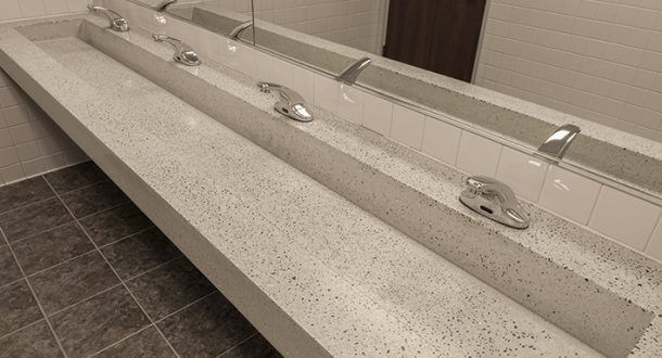 Custom Trough Sinks For Commercial And Residential