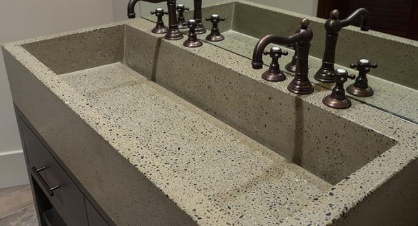 Rettangolo Bathroom Sink Design Eko Living Elements Llc