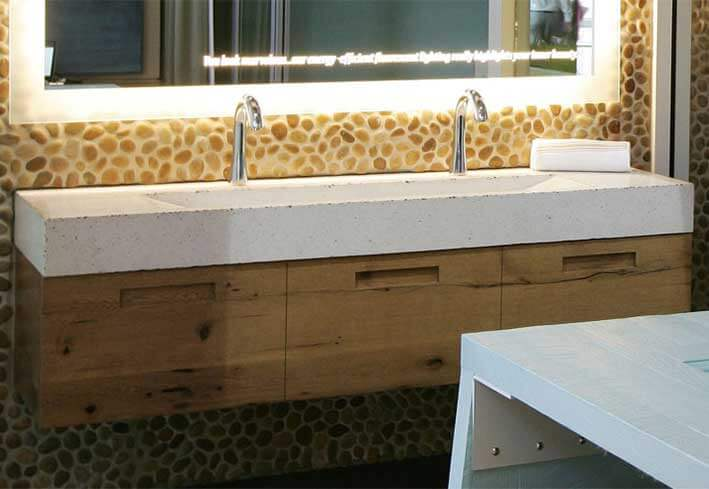 Bathroom Sinks Commercial commercial trough bathroom sinks | custom and standardeko