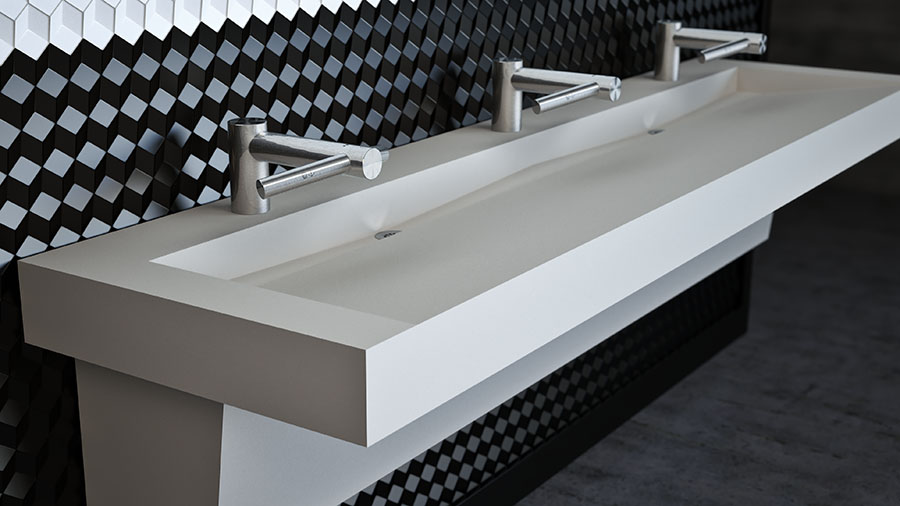 Office Complex / Airport / Commercial Trough Sinks