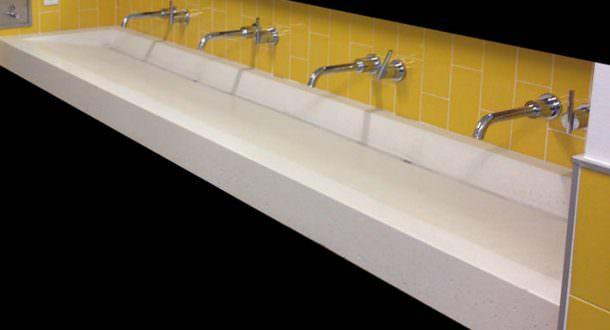 Trough Sinks Bathroom