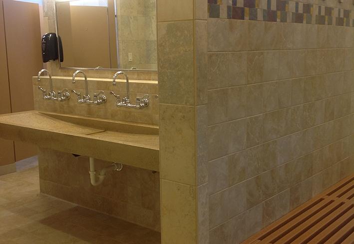 Trough Sink Custom Bathroom Trough Sink Designs For